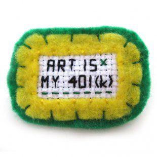 Stitched Pin