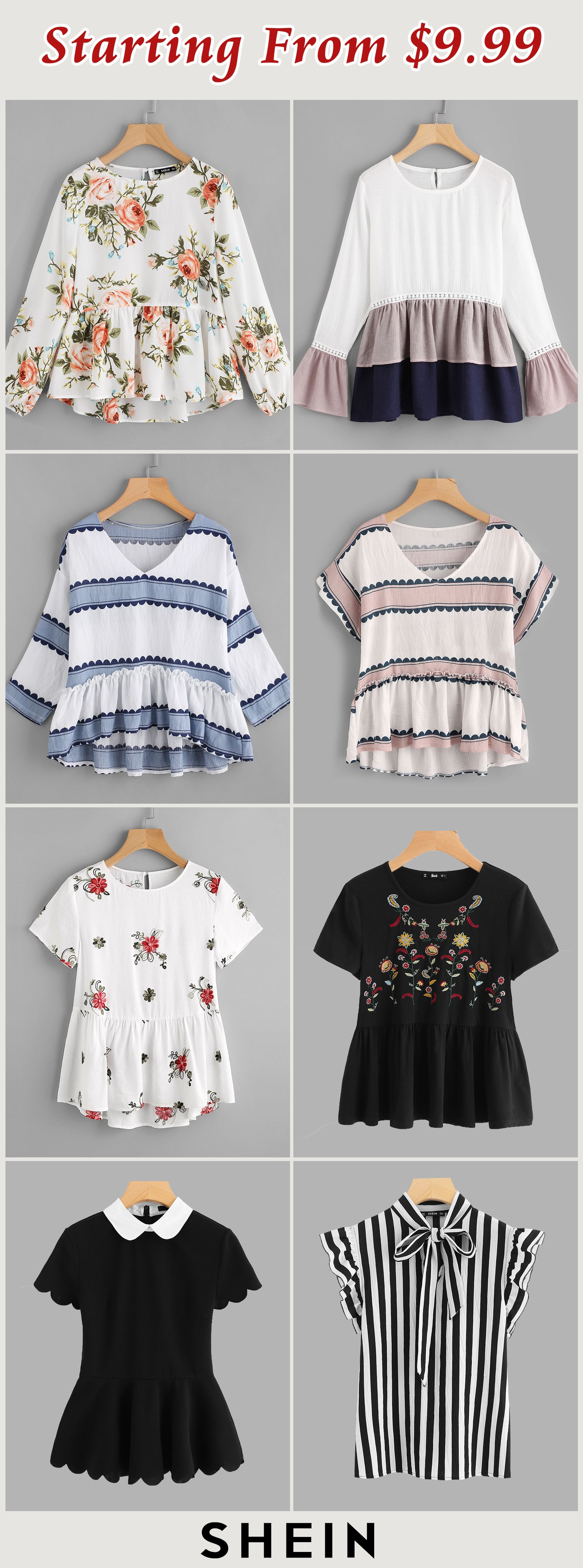 Starting from blusas pinterest clothes short shirt