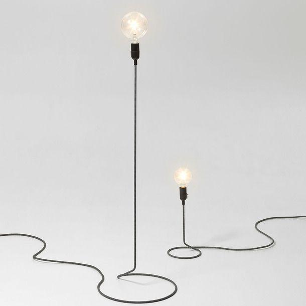 Cord Floor Lamp   I\'m comin\' home again   Pinterest   Floor lamp ...