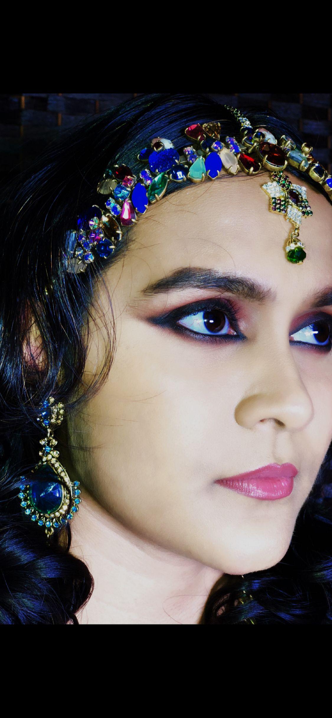 Inspired by Deepika Padukone's look in Padmaavati @mishael ...