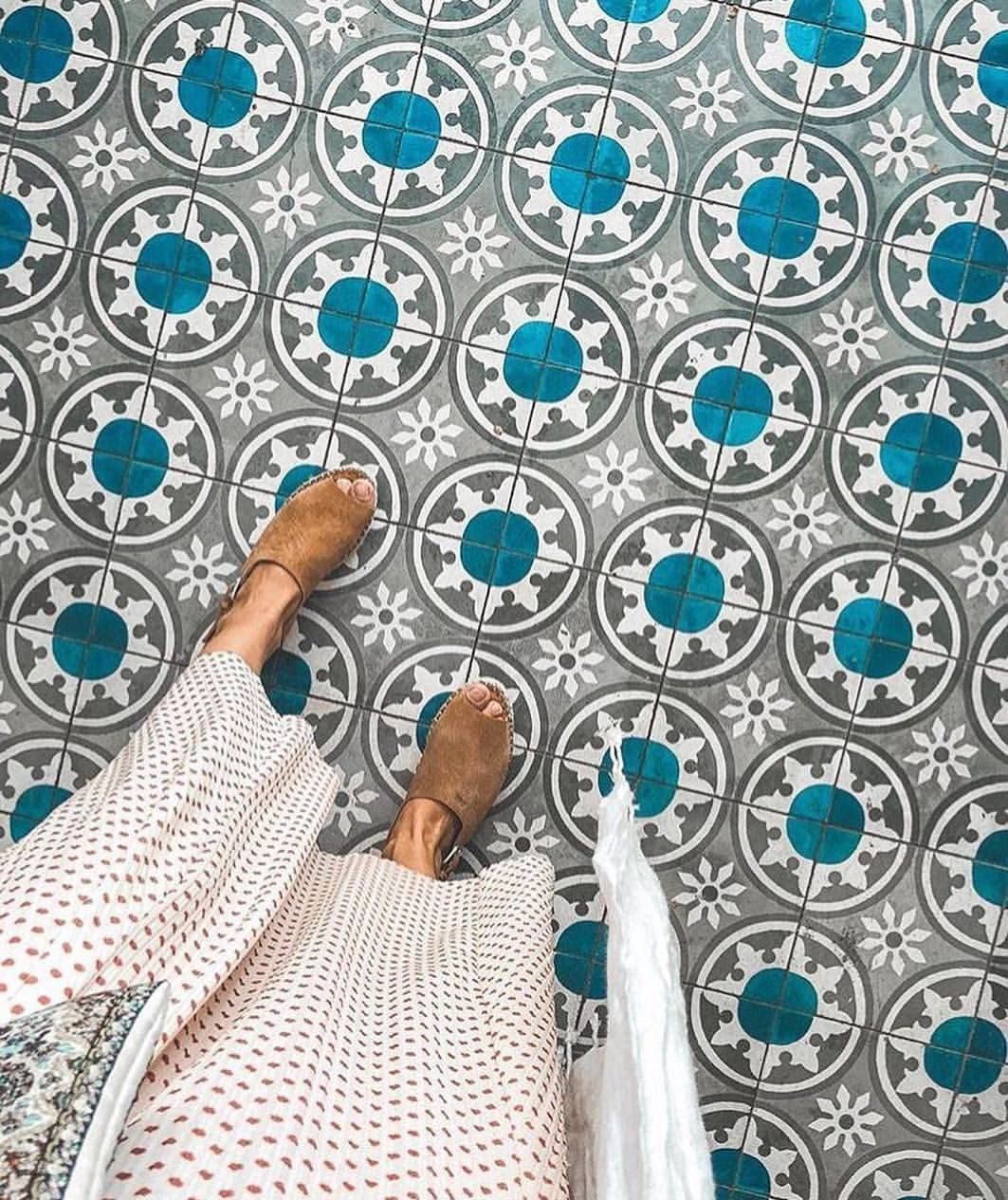 Amazing Teal Moroccan Flooring Pattern Flooring Tiles Moroccan Tiles Pattern Patterned Floor Tiles Teal Tile