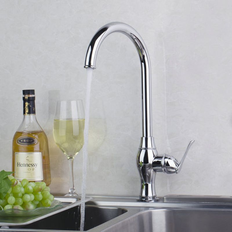Torayvino Contemporary Sumptuous Delicate Kitchen Faucet Chrome