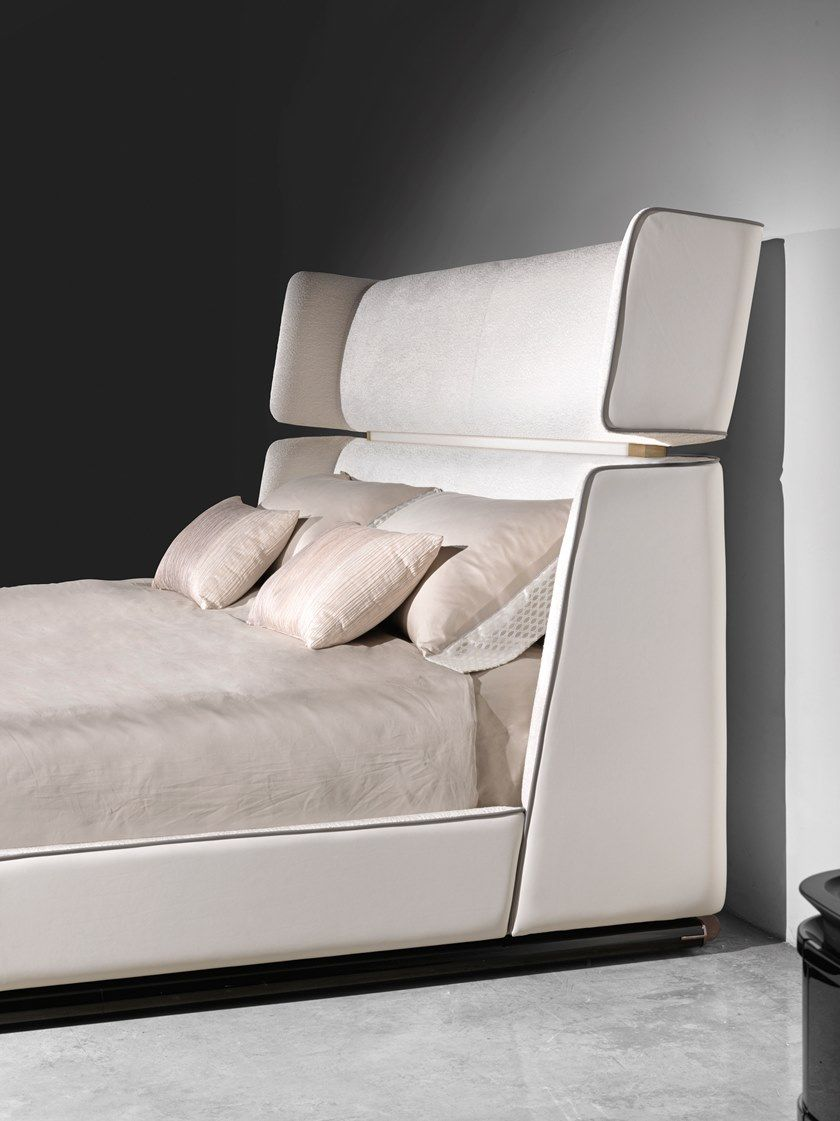 Double bed with upholstered headboard REVERIE by Visionnaire ...