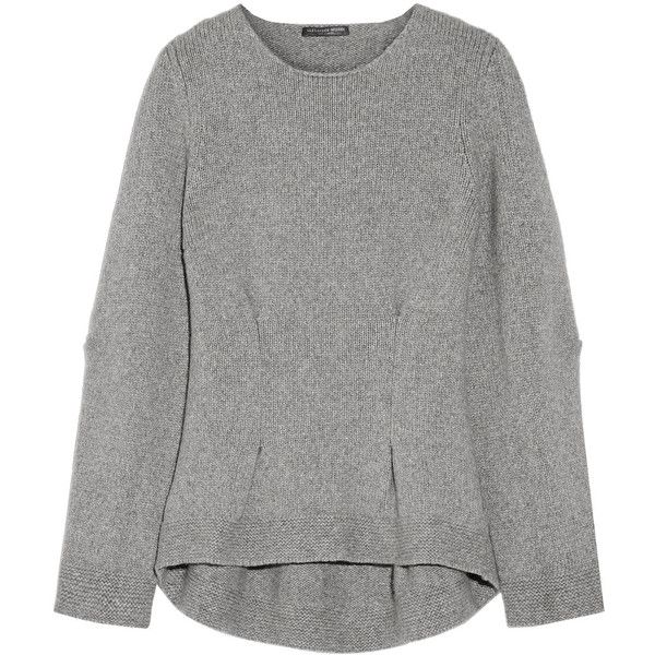 longsleeved loose sweater - Grey Alexander McQueen Shopping Online For Sale Shopping Online Sale Online Clearance Get To Buy For Sale Cheap Online rTHTbQW