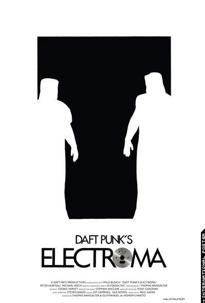 """Daft Punk's Electroma (2006)     The movie trailer for """"Daft Punk's Electroma,"""" a feature film written and directed by Daft Punk (Thomas Bangalter and Guy Manuel De Homen-Christo), with robots and makeup effects by Alterian, Inc.  This film opened the Cannes Fortnight Film Festival in 2006."""