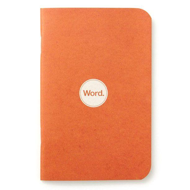 Word Notebook | Orange