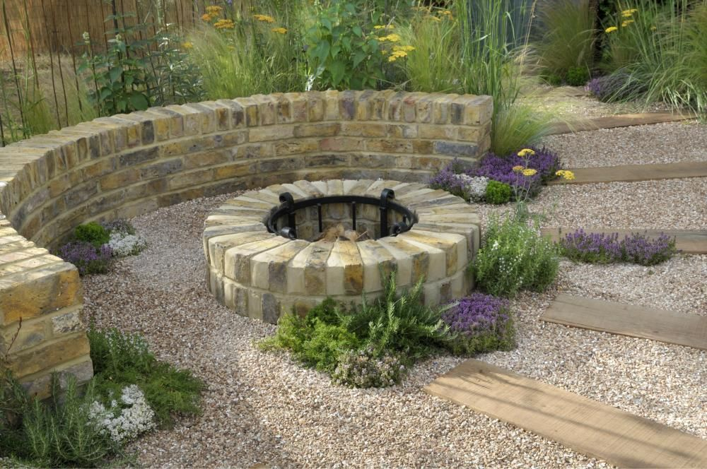 Feuerstellen Im Garten Gestalten Feuerstelle Garten Gartengestaltung Und Garten