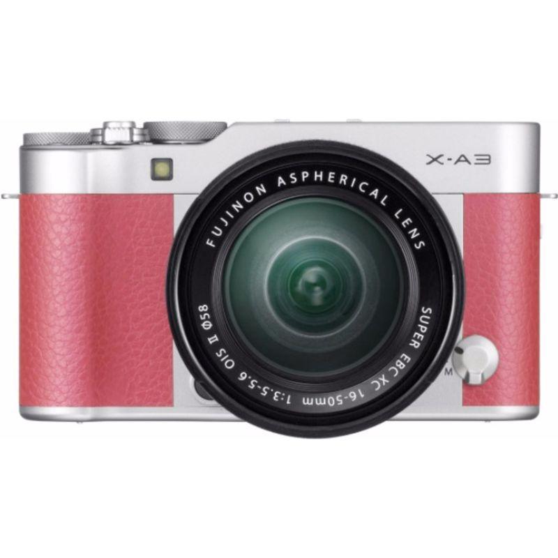 awesome Fujifilm X-A3 Roze + XC16-50mm II EE bij Fujifilm aan CameraShop.nl