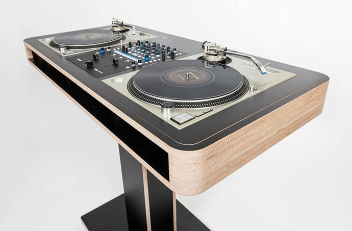 stereo t dj table diy dj booth dj table dj booth dj equipment for sale. Black Bedroom Furniture Sets. Home Design Ideas