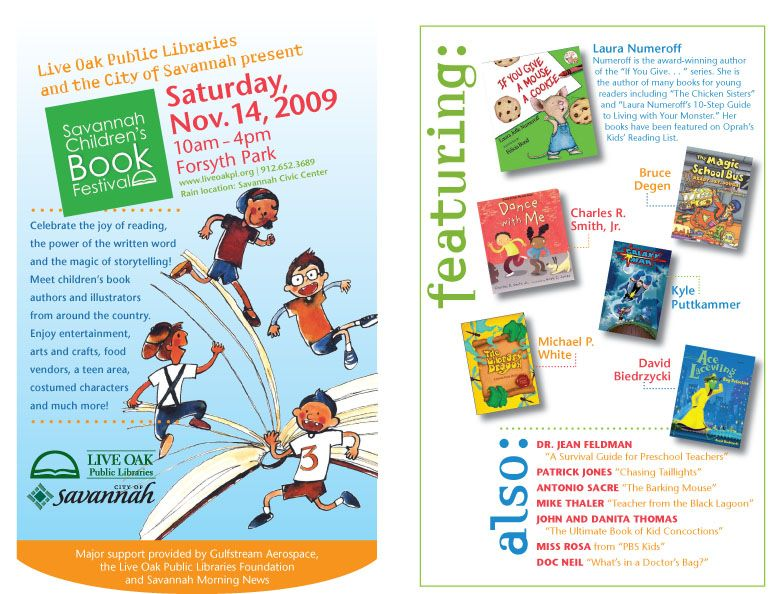 ChildrenS Event Flyer  Eye Of The Beholder Graphic Design