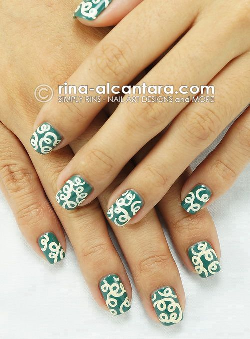 Loops Nail Art Design Rina Alcantara From The Philippines Is One
