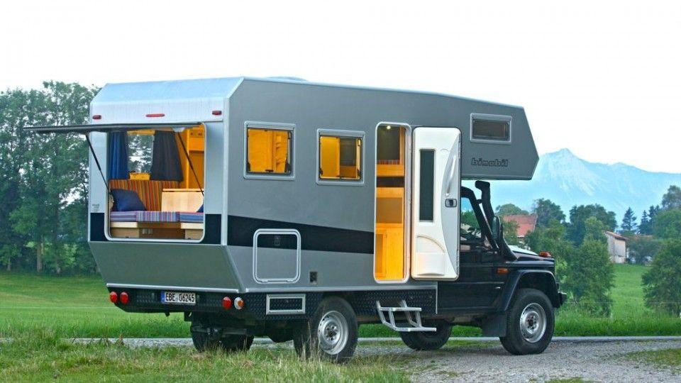 bimobil husky camping truck camper mercedes van. Black Bedroom Furniture Sets. Home Design Ideas