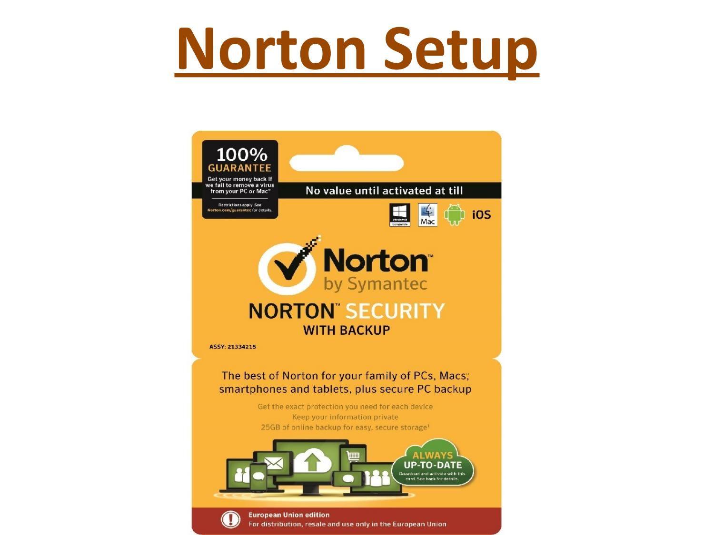 Www Norton Com Setup Setup Norton Antivirus Program