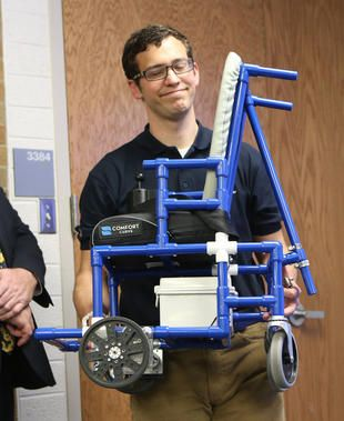 Byu engineers create inexpensive do it yourself wheelchair byu engineers create inexpensive do it yourself wheelchair deseret news see it believe it do it watch thousands of spinal cord injury videos at solutioingenieria Choice Image