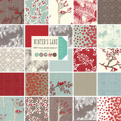 Moda Winters Lane Layer Cake 10 Quot Precut Cotton Fabric