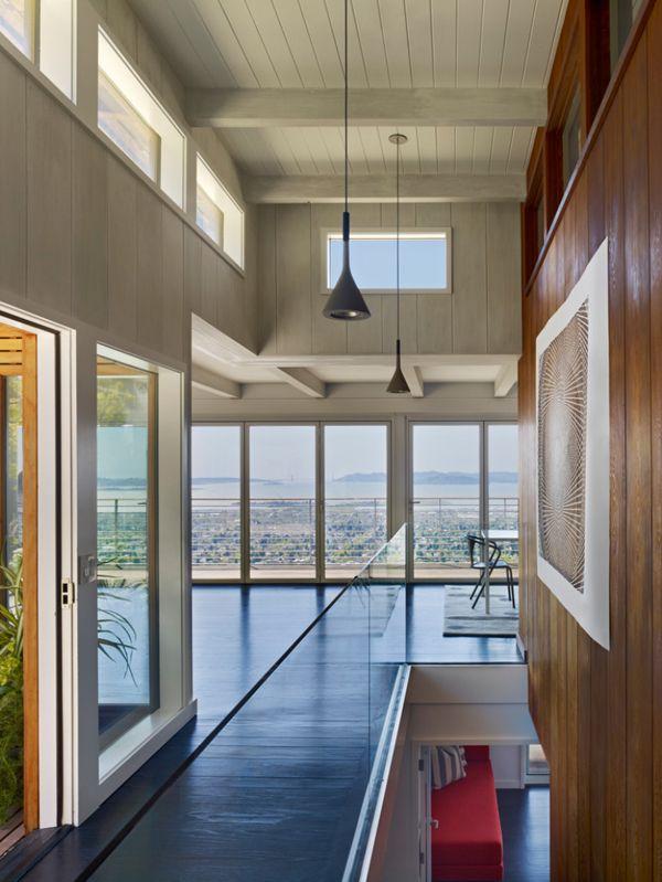 Stunning mid century modern home renovation in Berkeley Hills   Mid century modern house ...