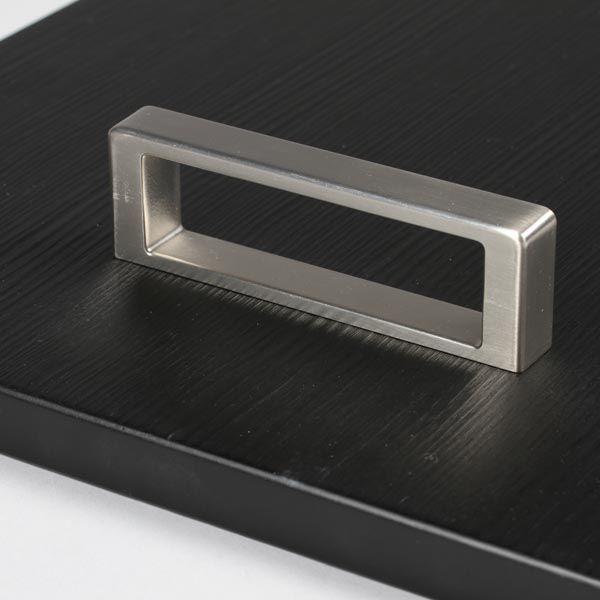 poignée de meuble look inox cubico | cuisine, design et ps - Poignee Meuble Design