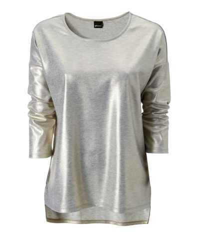Gina Tricot - Mimmi sweater Lt grey melange (8390) ($50-100) - Svpply käyttäjältä Saana | We Heart It