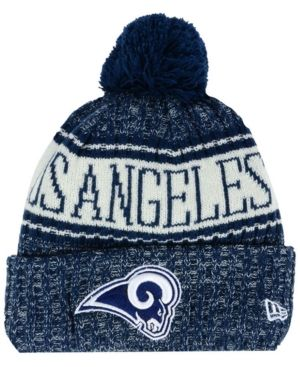 lowest price 20f8f 8607d New Era Boys  Los Angeles Rams Sport Knit Hat - Navy White Adjustable
