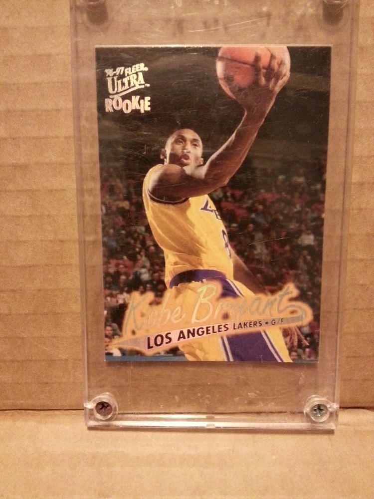 9697 Fleer Ultra Kobe Bryant Rookie Card 52