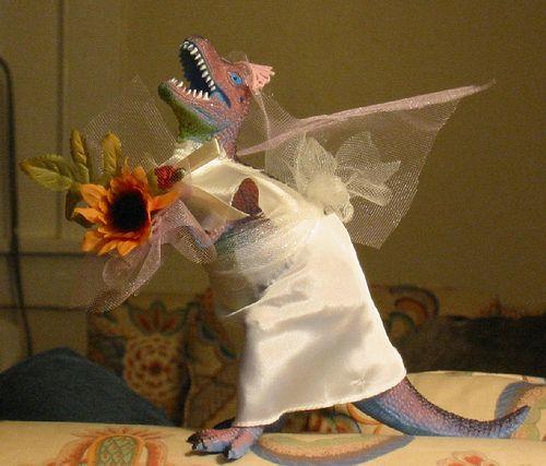 Godzilla Wedding Dress