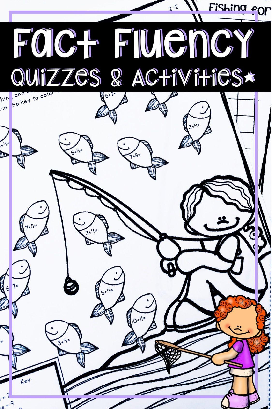Fact Fluency Activities