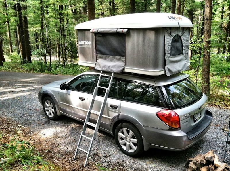 subaru rack thule and video photos legacy traverse aeroblade roof rapid