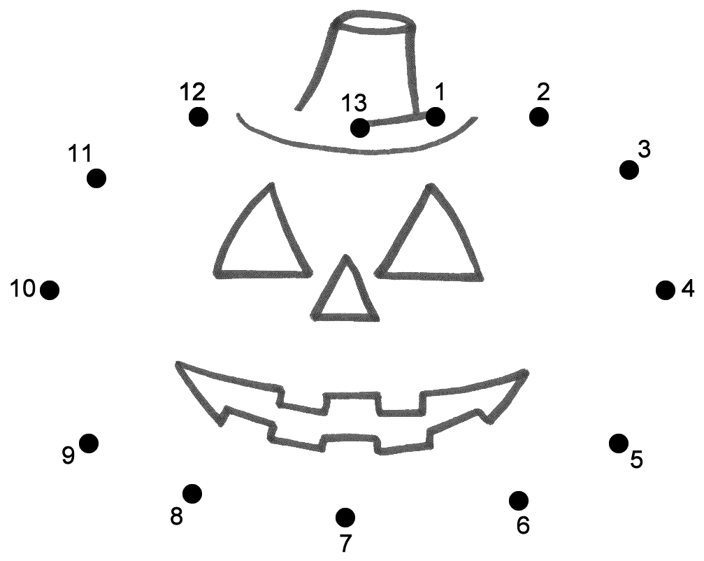 Uncategorized Halloween Connect The Dots Worksheets connect the dots page halloween pinterest speech pathology pumpkin dot to yahoo image search results