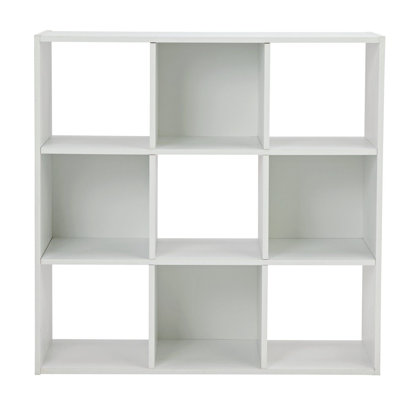 Buy Argos Home Squares 9 Cube Storage Unit White Bookcases And Shelving Units In 2020 Cube Storage Unit Cube Storage White Storage