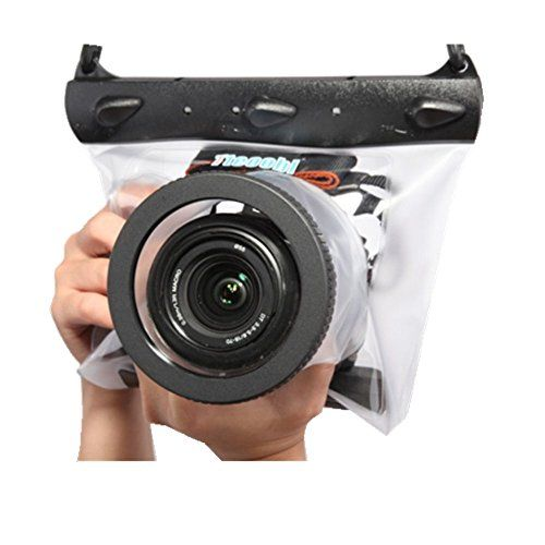 DSLR SLR Camera Waterproof Bag Housing Case Pouch Cover For Canon Nikon