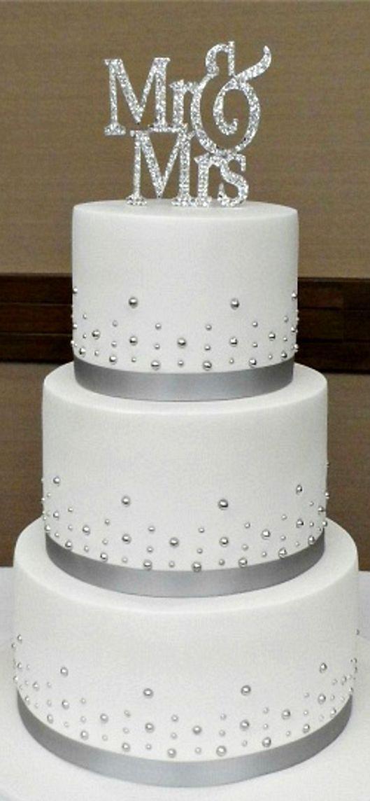 Mr Mrs Wedding Cake Simple Wedding Cake Wedding Cake Simple Elegant Wedding Cake Toppers