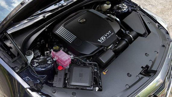 Двигатель купе Cadillac ATS Coupe 2016 / Кадиллак ATS Купе 2016
