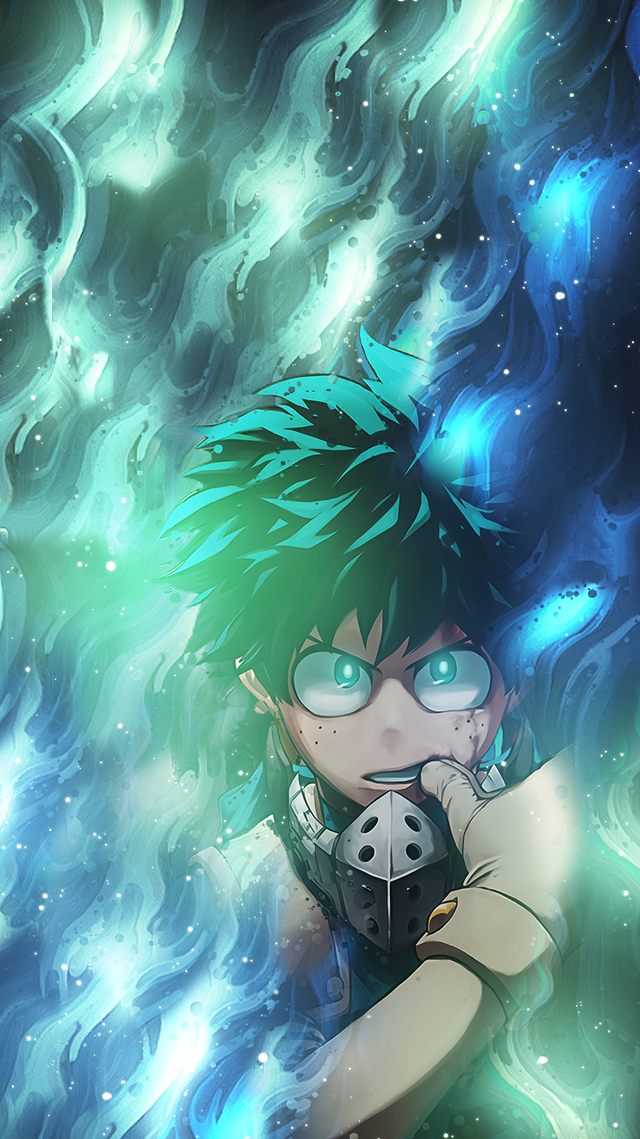 I Made A Deku Wallpaper For Mobile Bokunoheroacademia Hero Wallpaper My Hero Academia Episodes Hero