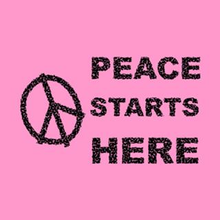 Almofada A Paz Começa Aqui do Studio Ideiasnorabisko por R$55,00