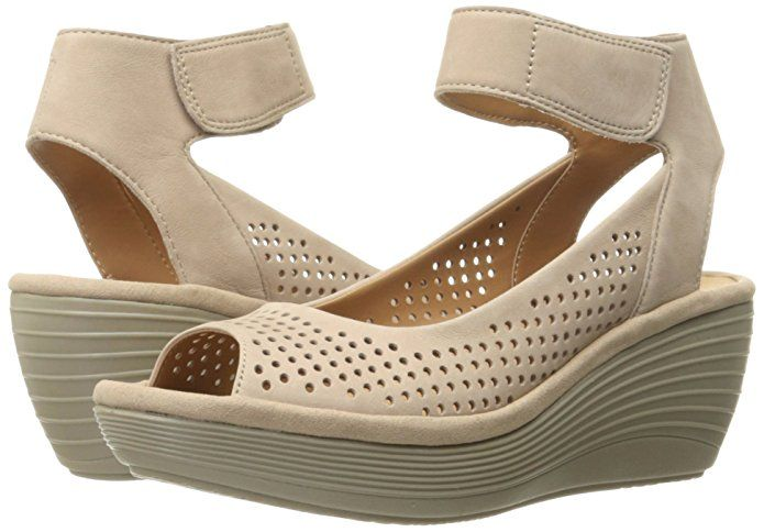 | Clarks Women's Reedly Salene Wedge Sandal