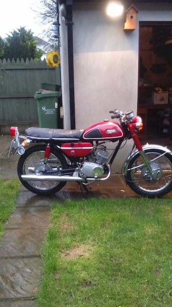 Vintage Bikes For Sale In Ireland Vintage Bikes Yamaha Bikes For Sale