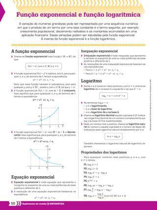 Funcao Exponencial E Funcao Logaritmica Study Tips Studyblr Math