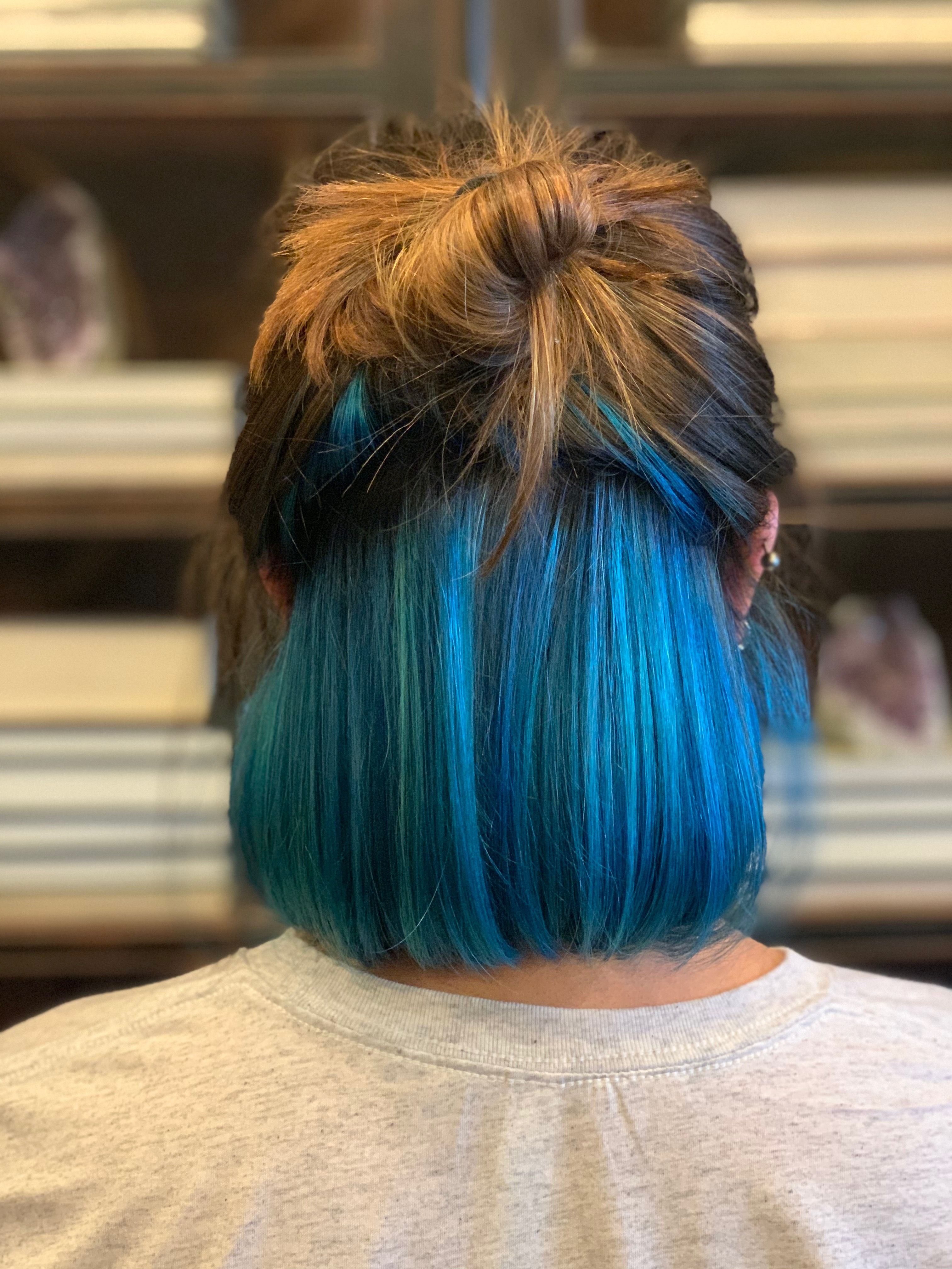 Pin By Jojo On Short Hairstyle In 2020 Hair Inspo Color Hidden Hair Color Hair Color Underneath