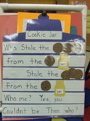 Who Stole The Cookie From The Cookie Jar Song Custom Cachey Mama's Classroom Who Stole The Cookie From The Cookie Jar