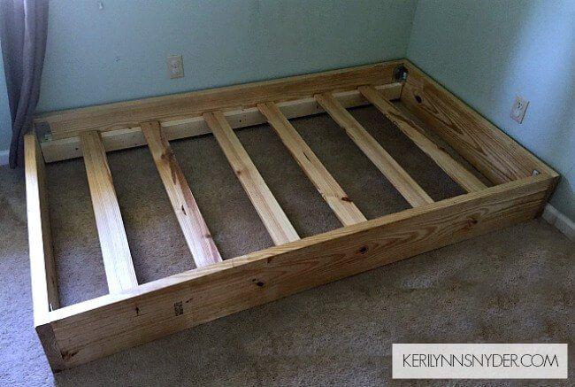 DIY Twin Bed Frame images