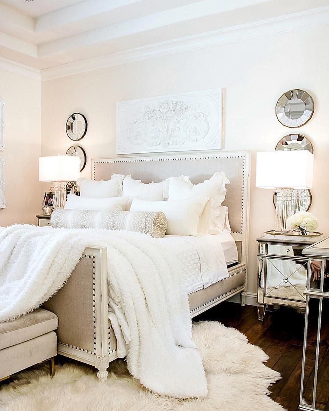 Modernistic Metallic Touch To Your Bedroom