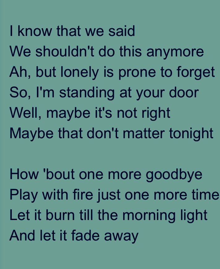 One More Goodbye Randy Rogers Band Me Too Lyrics Music Lyrics