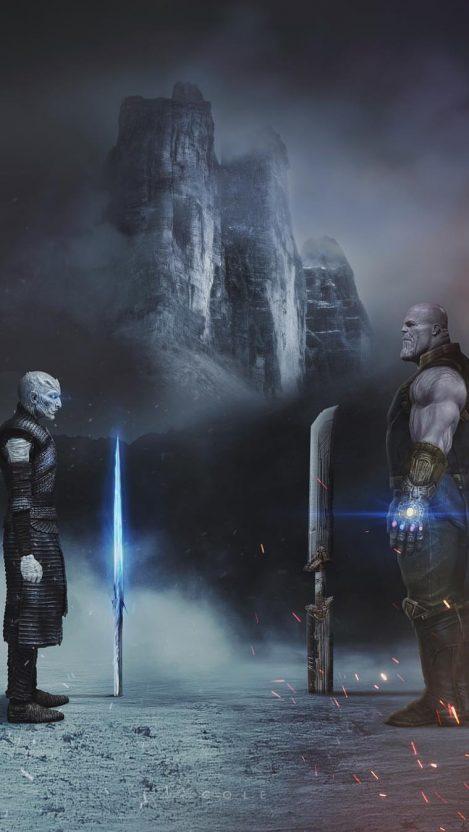 Thanos dialogue thanos marvel avengers wallpaper
