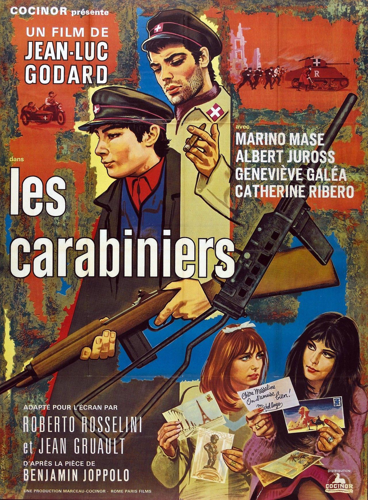 LES CARABINIERS. The Carabineers (1967)