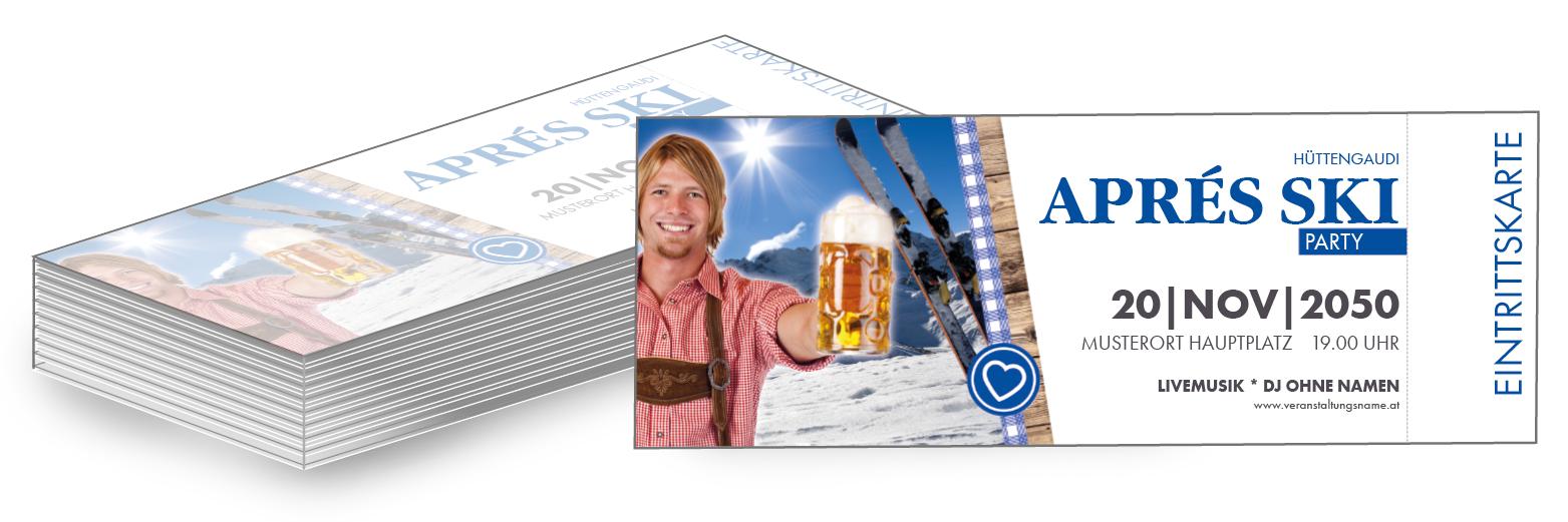 Gratis Vorlagen für Apres Ski Party Einladungen überarbeiten und