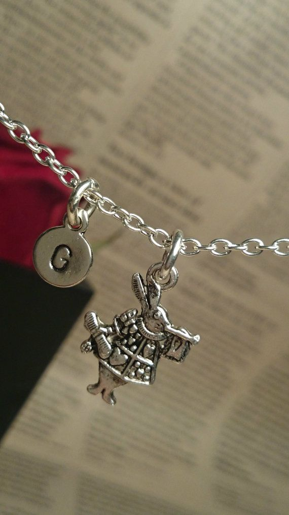 Personalized Hand Stamped Alice in by GustavsDachshundShop on Etsy