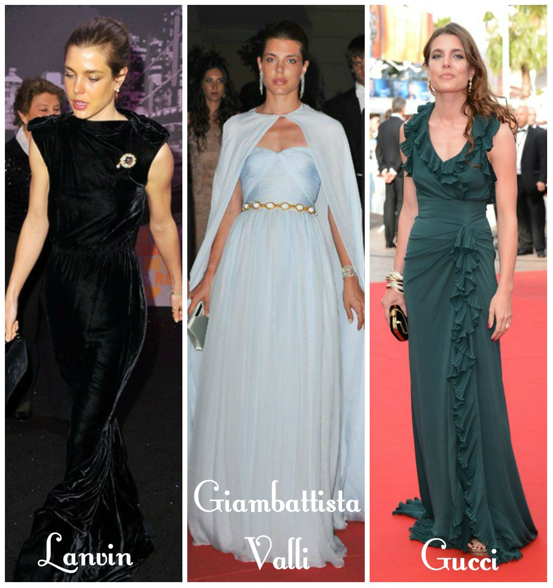 Ready for Royalty via casiraghitrio: Charlotte Casiraghi Style ...