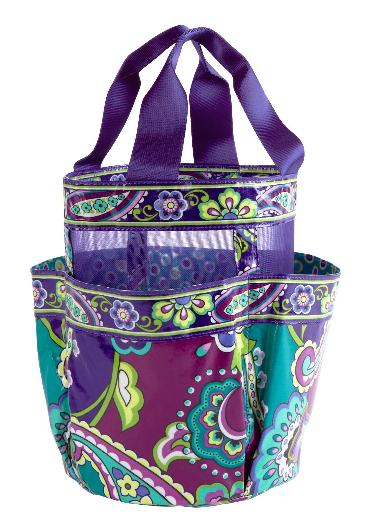 Vera Bradley Shower Caddy in Heather, $35. Good place to hold your ...