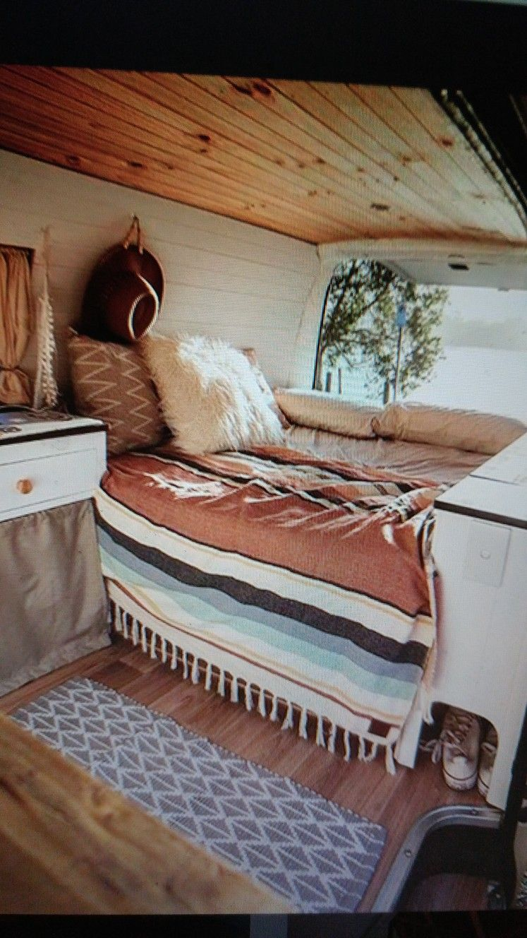 Best White Side Wood Roof ••• K O M B I ••• Camper Van Van 400 x 300