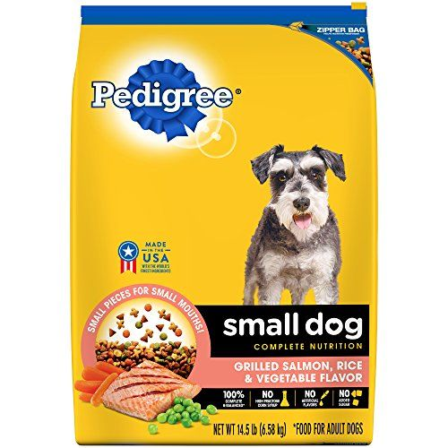 Pedigree Small Dog Adult Complete Nutrition Grilled Salmon Rice